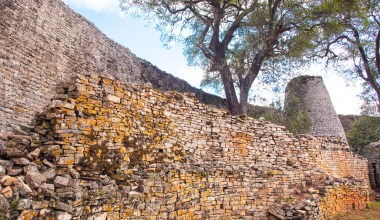 Great Zimbabwe wall
