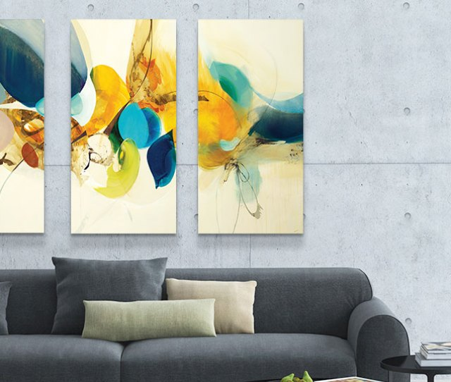 Piece Abstract Canvas Prints