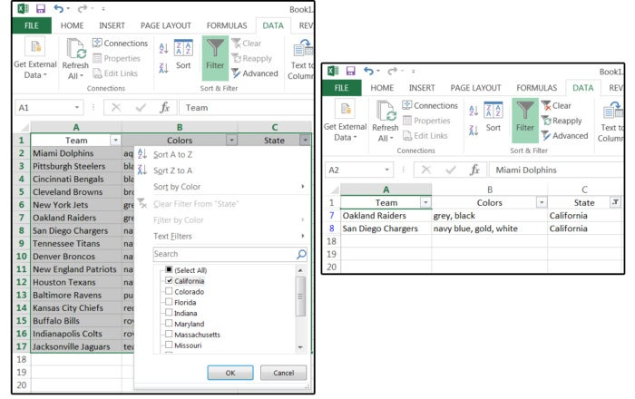 06 use filters to sort and display specific data