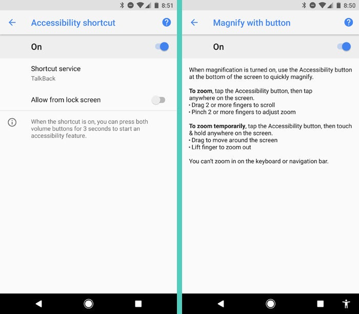 Android 8.0 Oreo: Accessibility