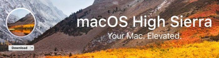 app store high sierra download