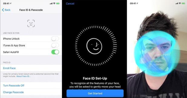 face id leak iphone x