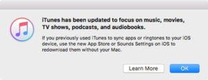 itunes 127 disclaimer