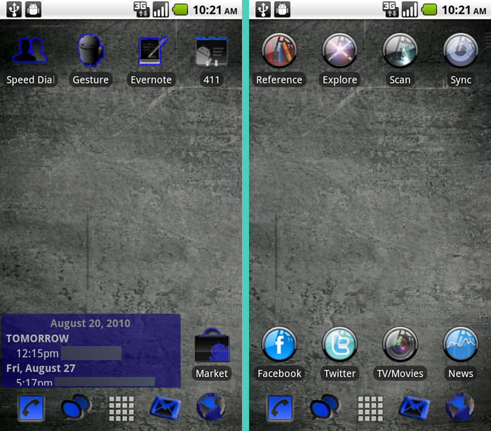 Android Nostalgia - Forgotten Apps: ADW Launcher