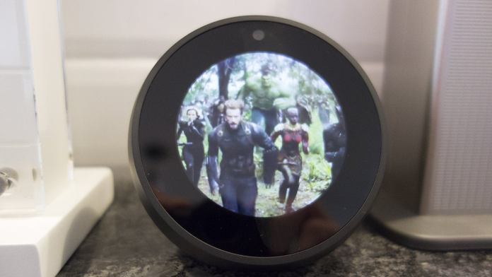 amazon echo spot video