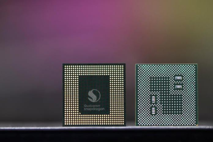 qualcomm snapdragon 845 cropped