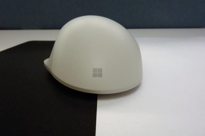 Microsoft Surface Precision Mouse rear shot