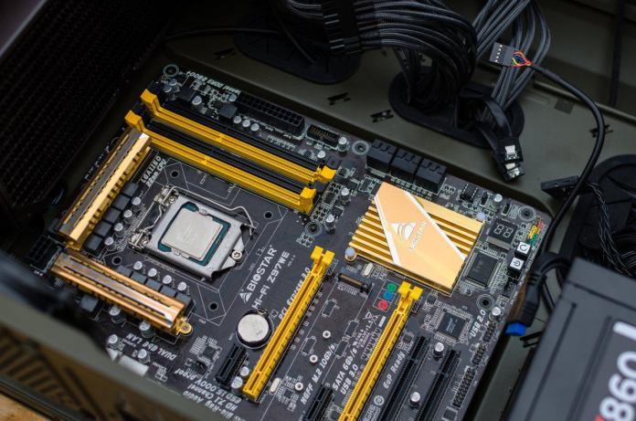 motherboard intel biostar