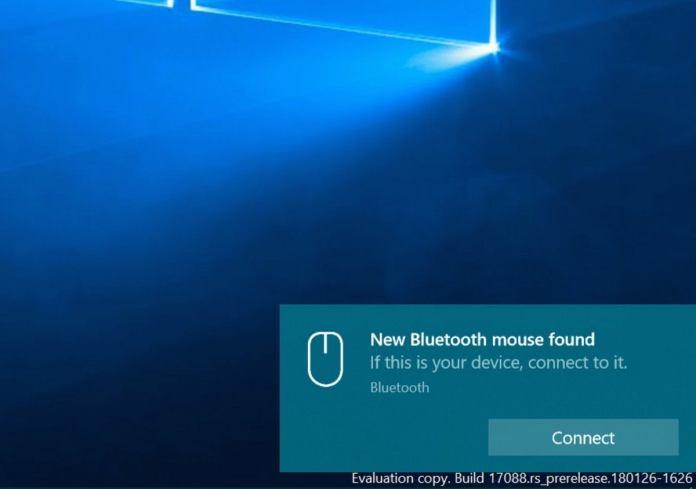 windows 10 17093 insider bluetooth
