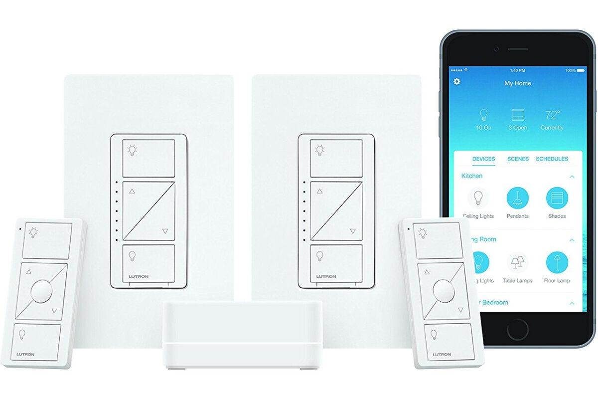 Lutron Caseta Smart Lighting Dimmer Switch Starter Kit