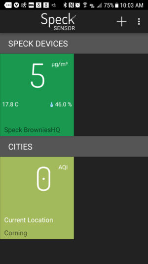 Speck Android app