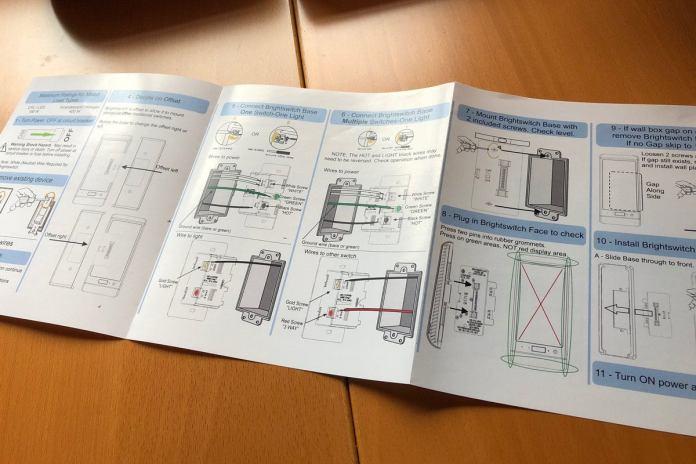 Brightswitch user manual
