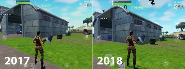 Fortnite Comparison