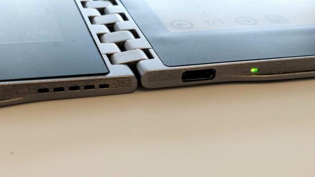 Intel usb c on the future tablet