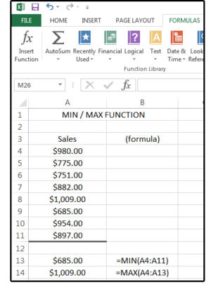 07 the min max function