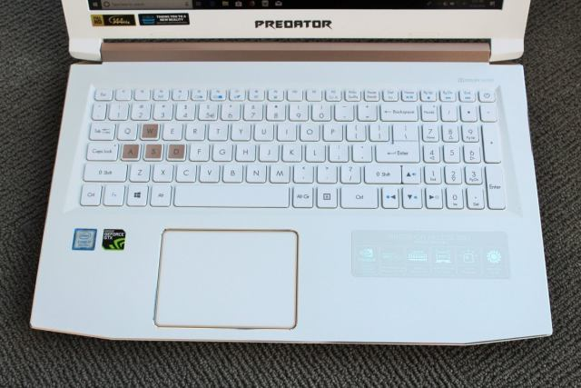 acer predator helios 300 special edition keyboard