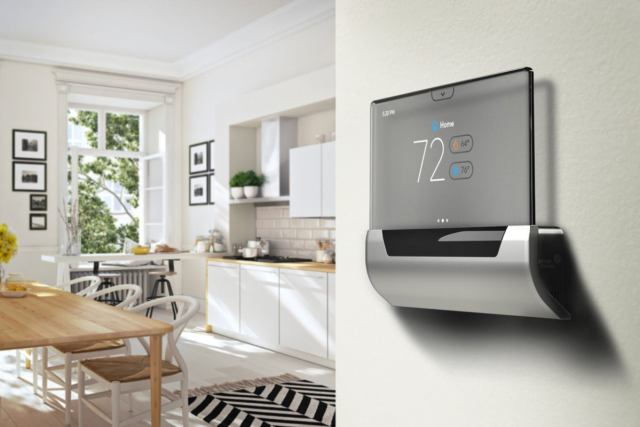 glas smart thermostat installed