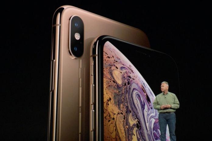 sự kiện iphone xs