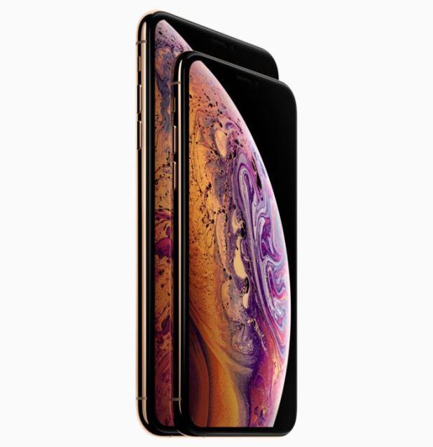 iphone xs sizes