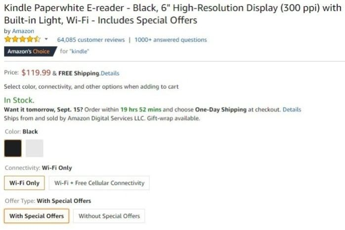 Amazon Kindle or Kindle Fire: How to remove ads and Special