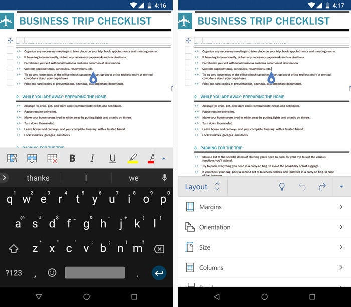 01 android office apps microsoft word