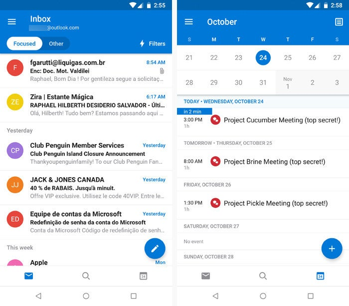 best android email apps outlook