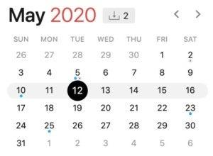 may 12 2020