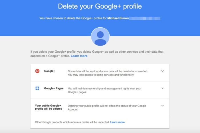 how to delete your profile picture in google