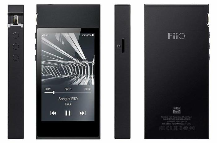 Detailed view of the Fiio M7