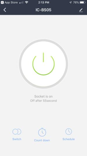 iClever smart plug app