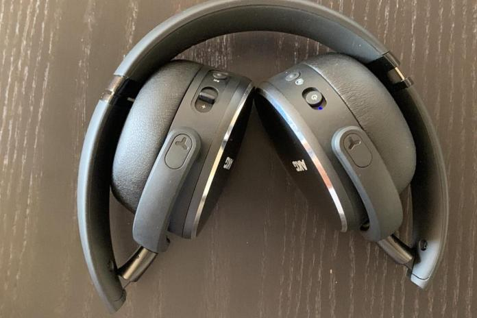 AKG Y500 wireless headphones fold to an ultra-compact formfactor.