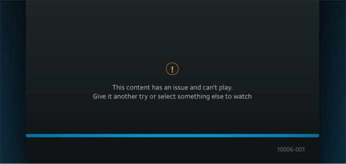 directv now playback error