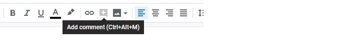 google drives collaboration comments 1