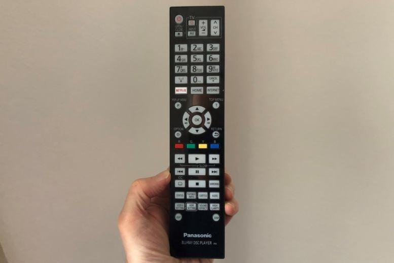 panasonic ub9000 remote