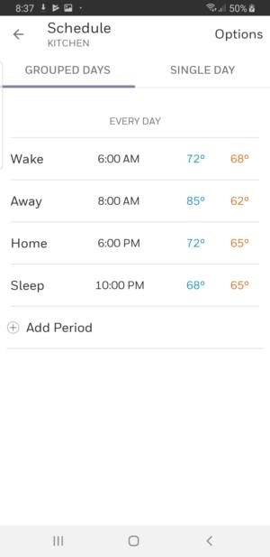 honeywell home t9 smart thermostat review  remote sensors are the star attraction here