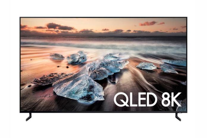 Samsung Q90R 8K smart TV