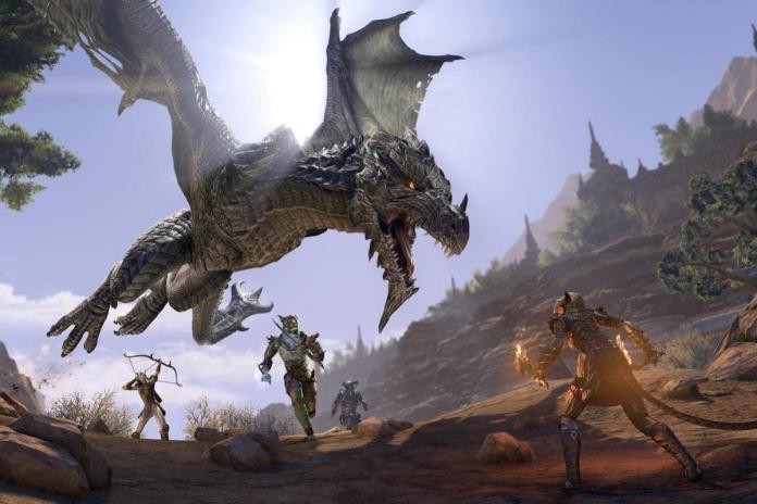 khajiit elsweyr dragon
