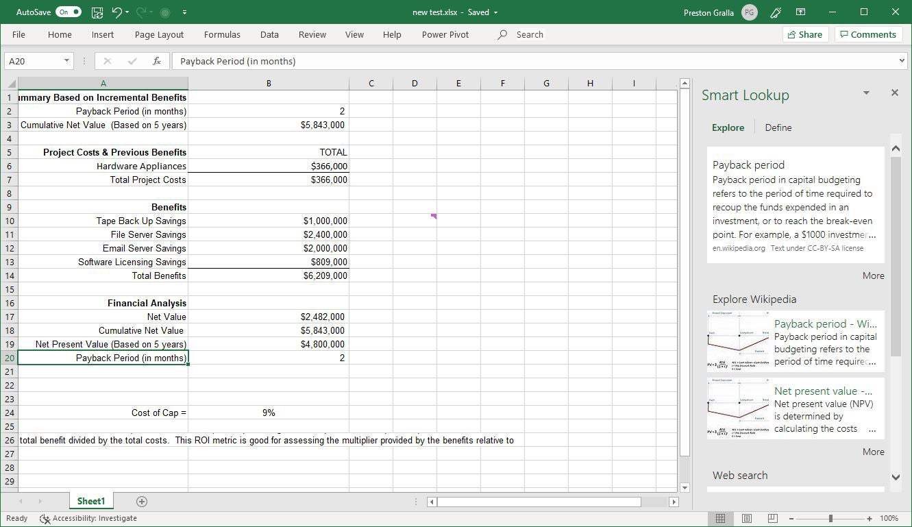 Excel For Office 365 Cheat Sheet