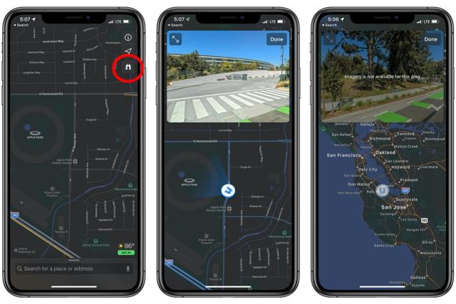 How to use Look Around in Apple Maps