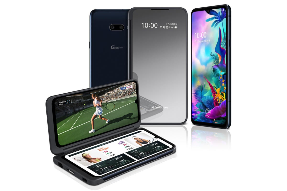 The Dual Screen Lg G8x Thinq Is Like An Snl Parody Of The