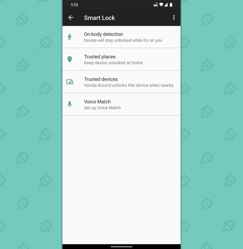 Android Security Audit: Smart Lock