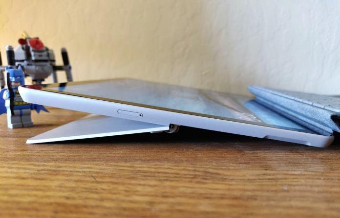 Microsoft Surface Go 2 left side