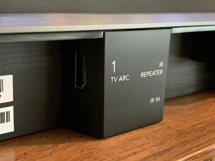 HDMI ARC and Toslink optical will be the primary methods you'll use to connect your TV to the Studio