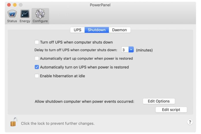 amazonbasics software shutdown configuration