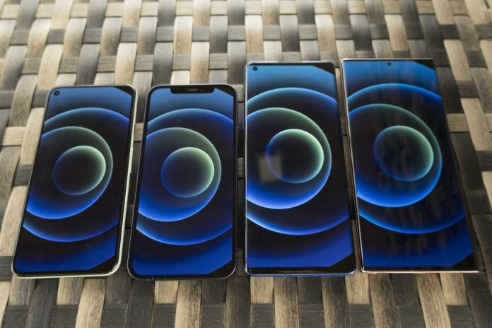 iphone android screen