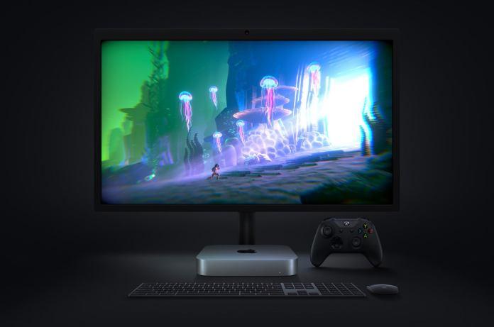 apple m1 chip mac mini lg display gaming screen 11102020