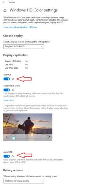 windows 10 autohdr