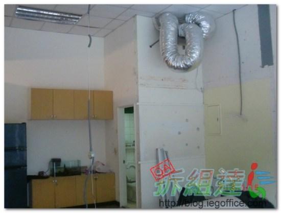 辦公室裝修,舊裝潢拆除