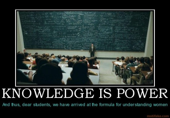 知識就是力量-knowledge is power
