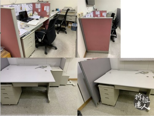 二手辦公家具,二手辦公屏風,二手辦公桌